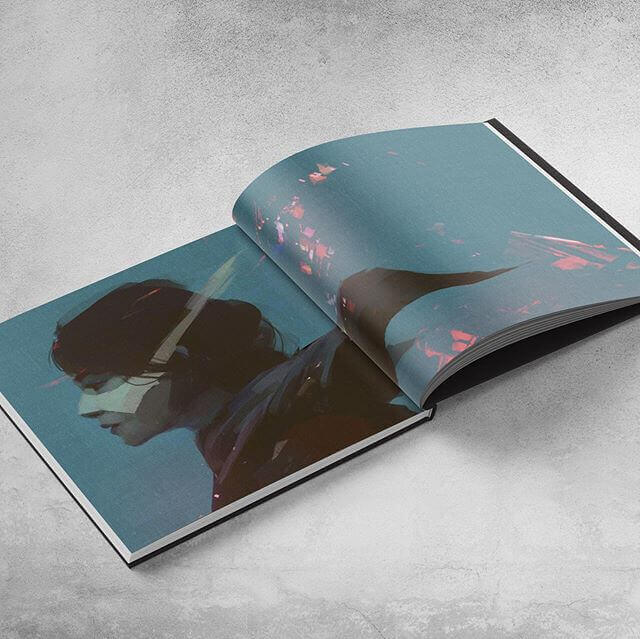 We print Black Rabbit 3 hardcover book