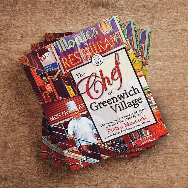 We print The Chef of Greenwich Village hardcover book