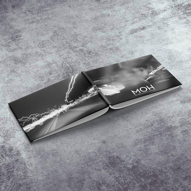 We print Men of Honor hardcover book
