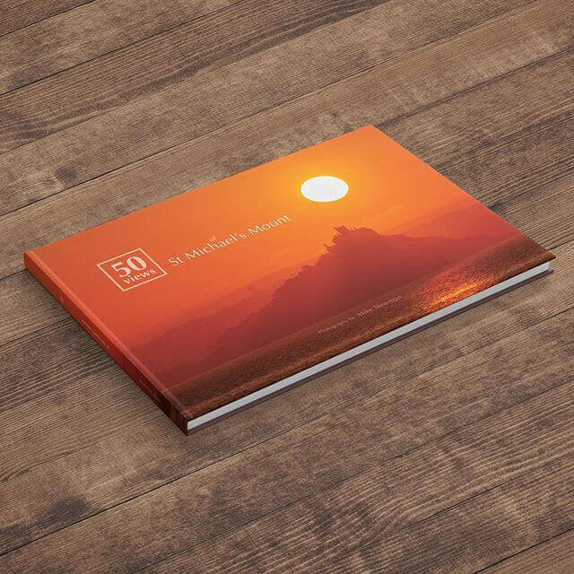 We print St Michael's Mount hardcover book