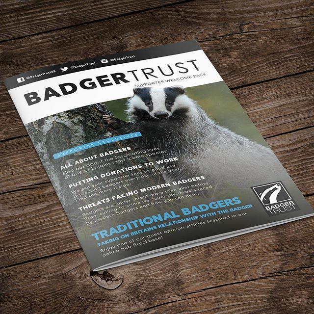 We print Badger Trust