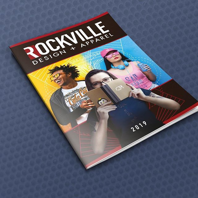 We print Rockville Design + Apperal catalogues