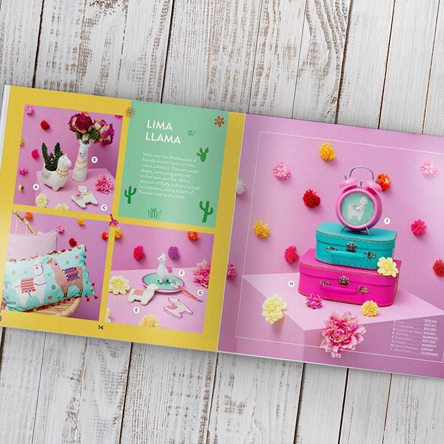 We print Sass and Belle catalogues