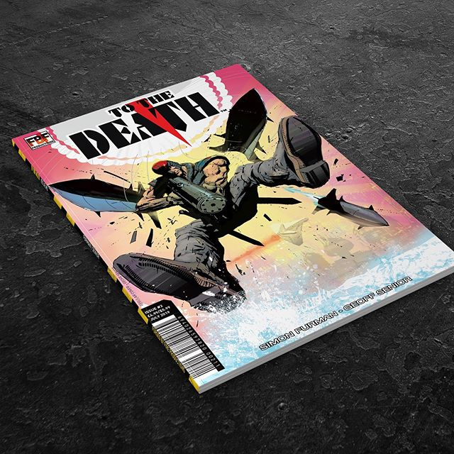 We print To The Death comic books