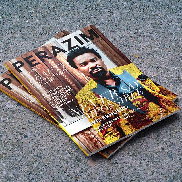 We print Parazim magazines