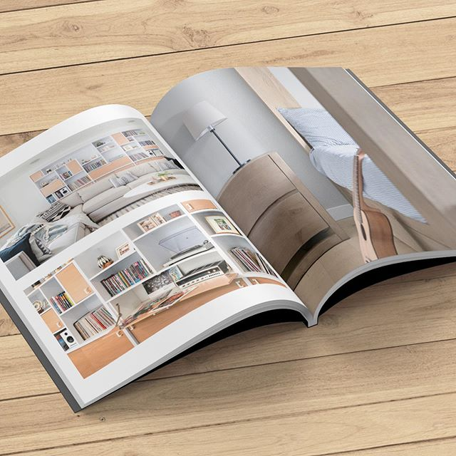 We print A Collection Of Really Nice Spaces booklets