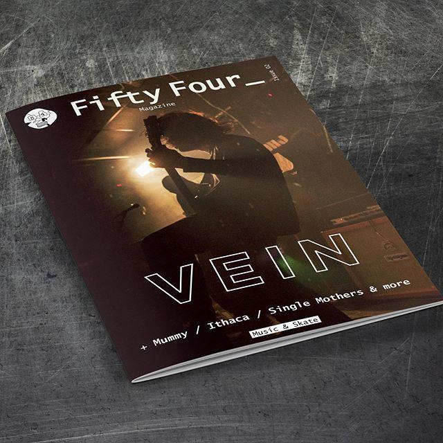 We print Fifty Four Magazine