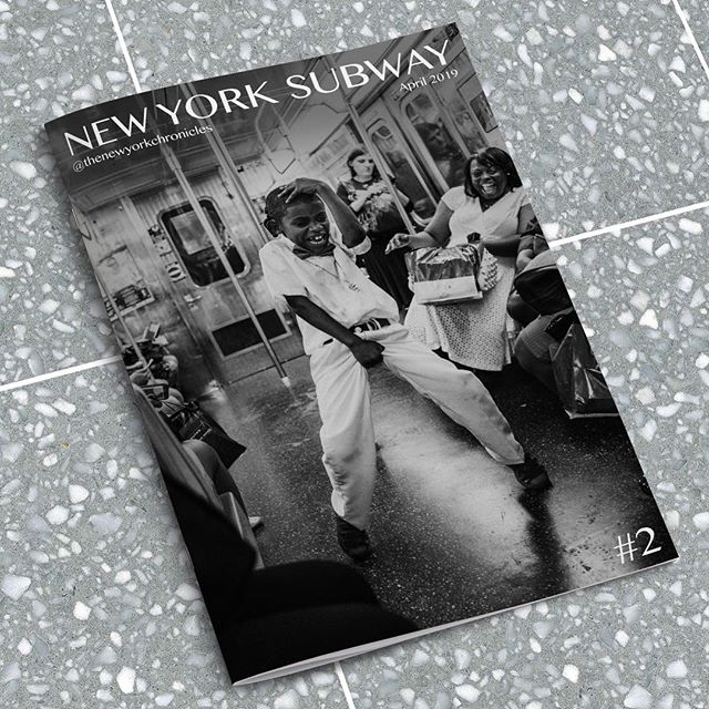 We print New York Subway zines
