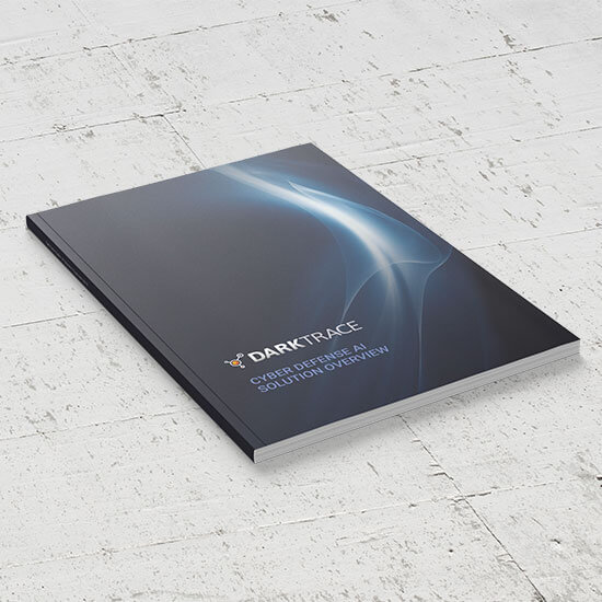 We print Dark Trace booklets