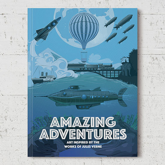 We print Amazing Adventures paperback books