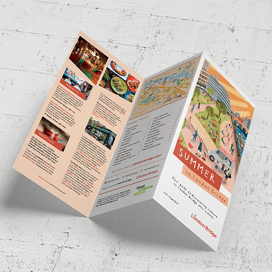 Folded Leaflet Printing - The UK's Best Price & Quality