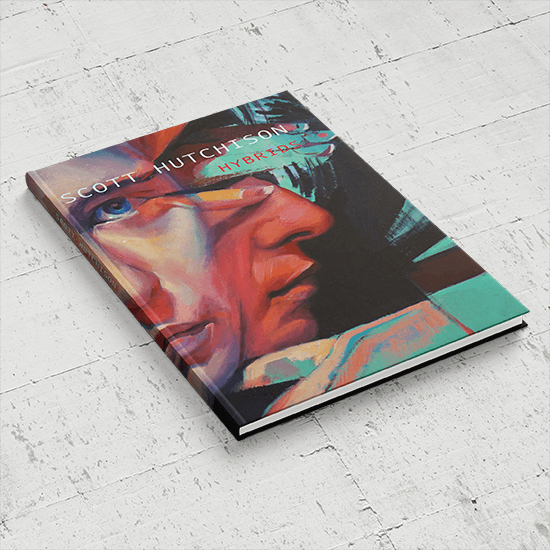 We print Hybrids hardcover book