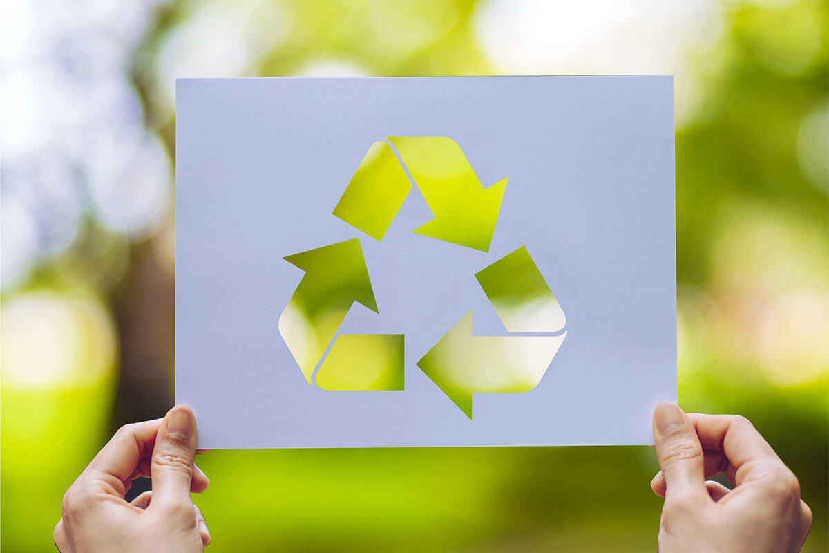 Introducing our line of recycled paper for both digital and lithographic printing
