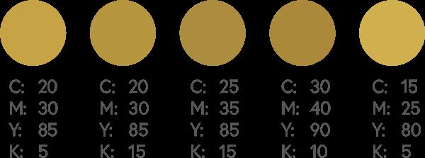 CMYK Golds 2