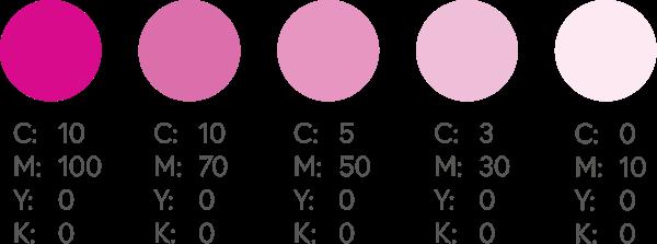 CMYK Pinks 1