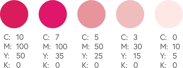 CMYK Pinks 3