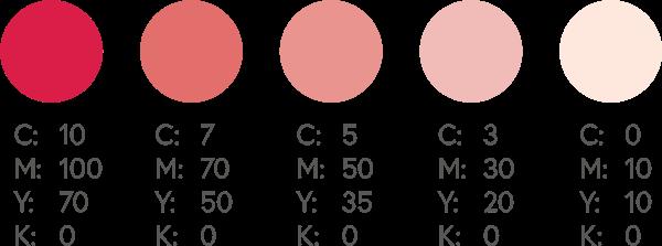 CMYK Pinks 4