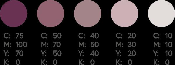 CMYK Purples 4