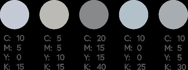 CMYK Silvers 1