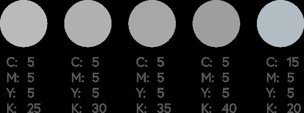 CMYK Silvers 2