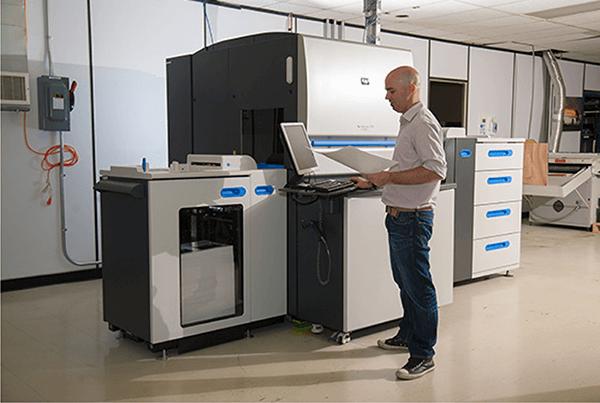 HP Indigo printing press