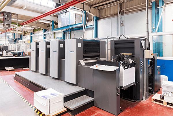 Heidelberg Speedmaster printing press