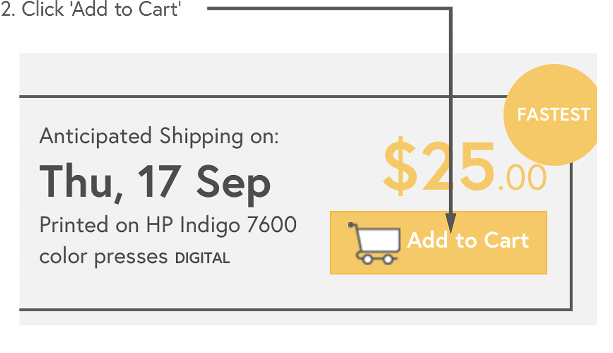 Click 'Add to cart'