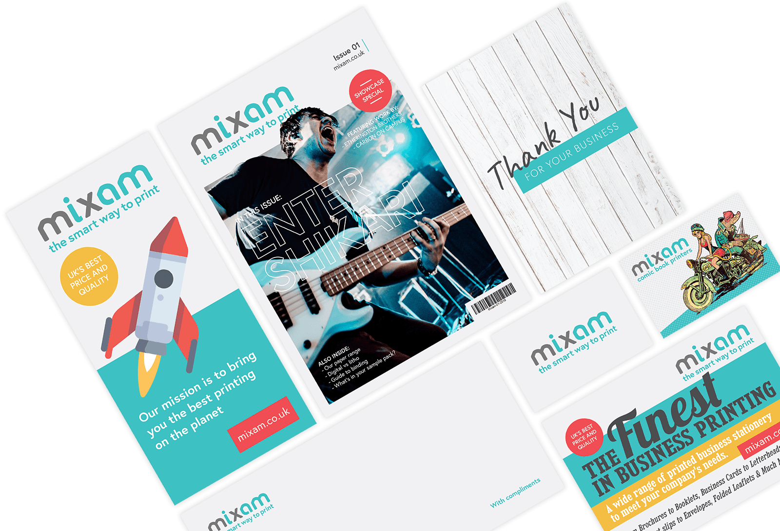 Free Printed Samples - Paper & Product Packs | Mixam Print
