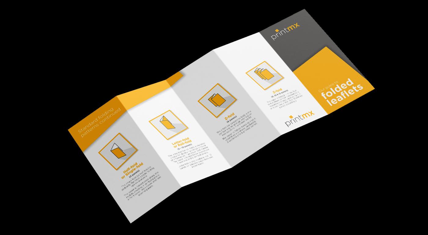 Z fold 10 page leaflet